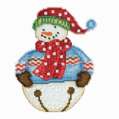 Jingle Snowbell Cross Stitch Kit Debbie Mumm 2014 Snowbells