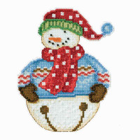 Jingle Snowbell Cross Stitch Kit Debbie Mumm 2014 Snowbells