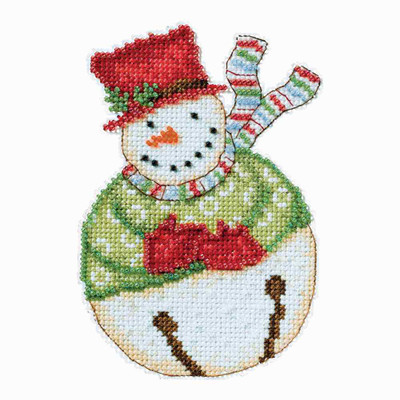 Jangle Snowbell Cross Stitch Kit Debbie Mumm 2014 Snowbells