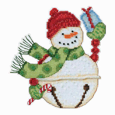 Freezy Snowbell Cross Stitch Kit Debbie Mumm 2014 Snowbells