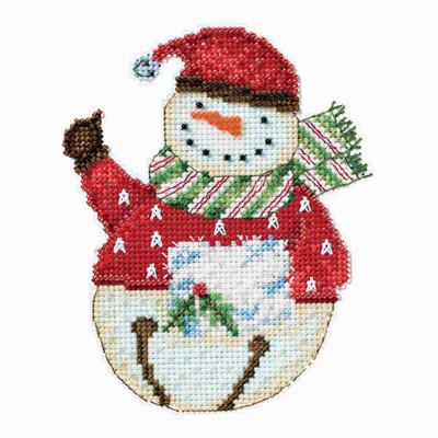 Flurry Snowbell Cross Stitch Kit Debbie Mumm 2014 Snowbells