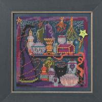Wanda's Witchery Cross Stitch Mill Hill 2014 Buttons & Beads Autumn