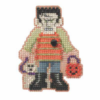 Monster Mash Bead Cross Stitch Kit Mill Hill 2014 Autumn Harvest