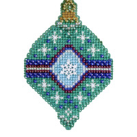 Jade Beaded Cross Stitch Kit Mill Hill 2014 Christmas Jewels