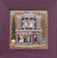 Bridal Shoppe Cross Stitch Kit Mill Hill 2015 Buttons Beads Spring MH145102