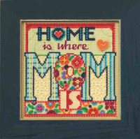Mom Beaded Cross Stitch Kit Mill Hill 2015 Buttons & Beads Spring MH145101