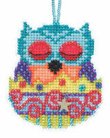 Finn Beaded Charmed Cross Stitch Kit Mill Hill 2015 Owlets MH165106