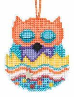 Tango Beaded Charmed Cross Stitch Kit Mill Hill 2015 Owlets MH165102