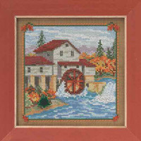 Country Mill Beaded Kit Mill Hill 2015 Buttons & Beads Autumn MH145205