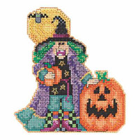 Muriel Bead Cross Stitch Kit Mill Hill 2015 Hocus Pocus Trilogy MH195203