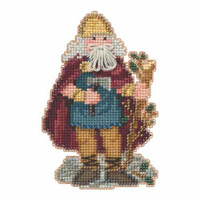 Wales Santa Beaded Ornament Kit Mill Hill 2015 Celtic Santas MH205302