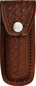 "Folding Knife Belt Sheath Fits 3 1/2"" to 4"" knife"