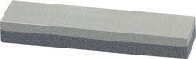 "Bench Stone measures 8"" x 2"". One side is fine grit and one side is coarse grit. Ideal for sharpening all types of knives, wood working and gardening tools and for industrial cutting tool edge maintenance."