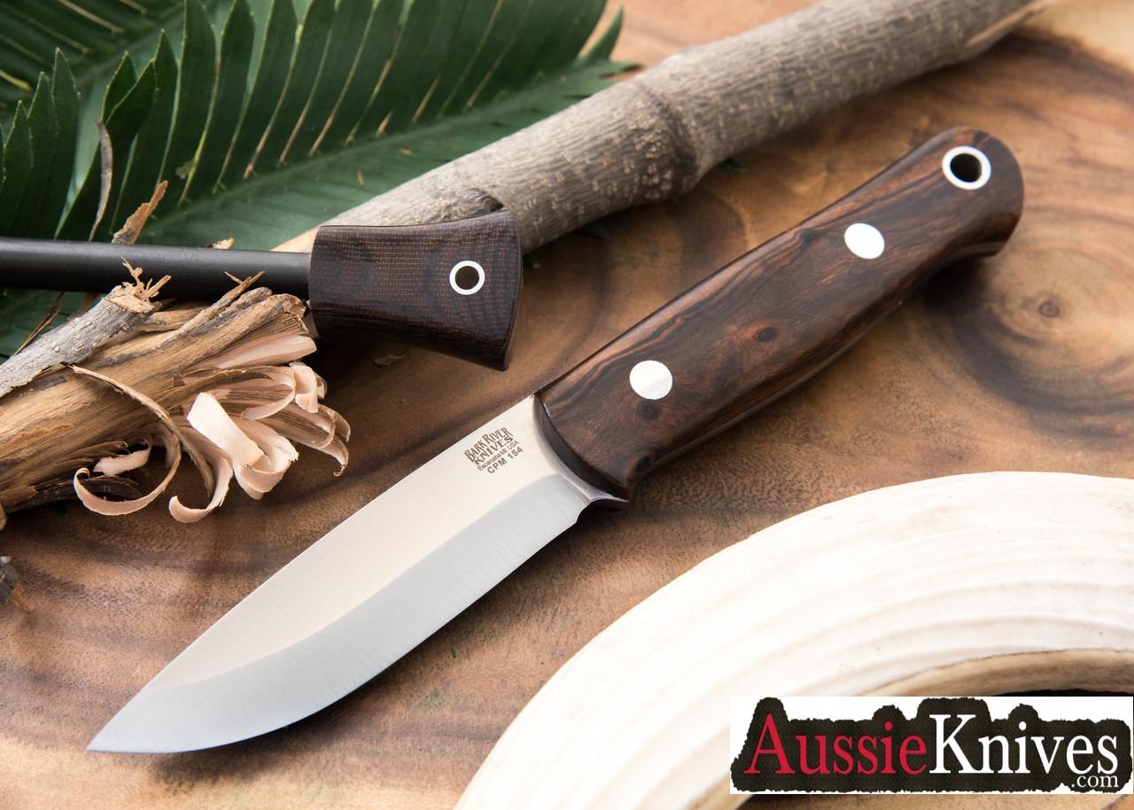 Bark River Knives: Bushcrafter - CPM-154 - Desert Ironwood #1