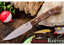 Bark River Knives Bird & Trout Eucalyptus Burl CPM154