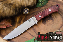 Bark River Wilderness Explorer - CRUWEAR - Scarlet Chechen Burl - Black Liners