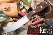 Bark River Knives Bravo 1 Bravo 1 Hunter CPM-154 Dark Curly Maple - #2