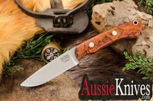 Bark River Knives Featherweight Fox River Elmax Desert Ironwood Burl - #1