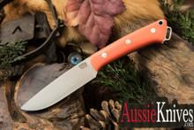 Bark River Knives Fox River CPM-154 Blaze Orange G-10