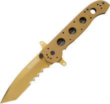 CRKT M16 Big Dog - TiNi coated Veff serrated