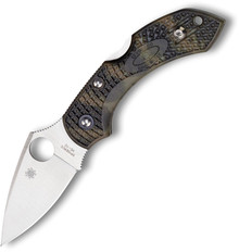Spyderco Dragonfly 2 Lockback  Camo textured FRN handle