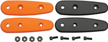 Becker Handle Scales - Orange & Black Eskabar BKR14