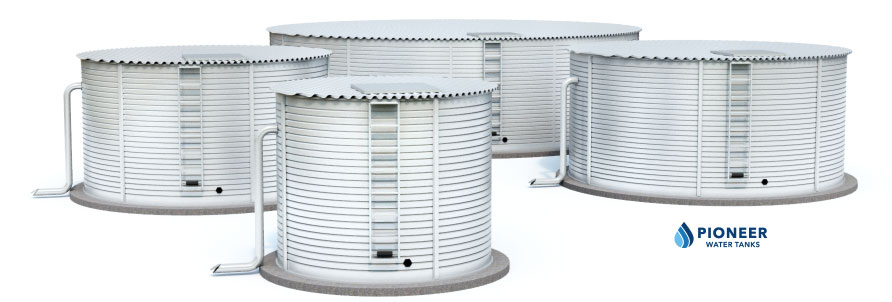 Pioneer Water Storage Tanks