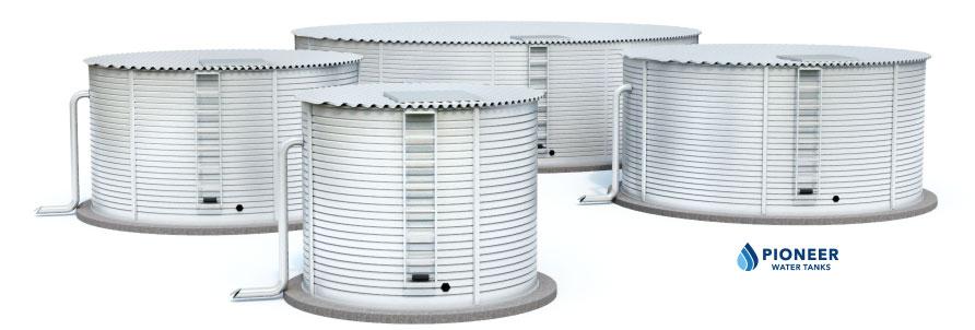 Pioneer Water Storage Tanks