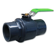 PVC & Stainless Steel Ball Valve