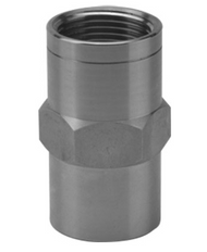 "1"" FNPT Stainless Steel Flow Restrictor (16 GPM)"