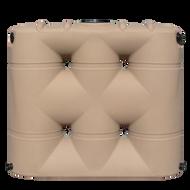 Bushman 530 Gallon Slimline Rainwater Tank (BSLT-530e) Mocha