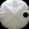 5000 Gallon Water Storage Tank (Tall) natural - top