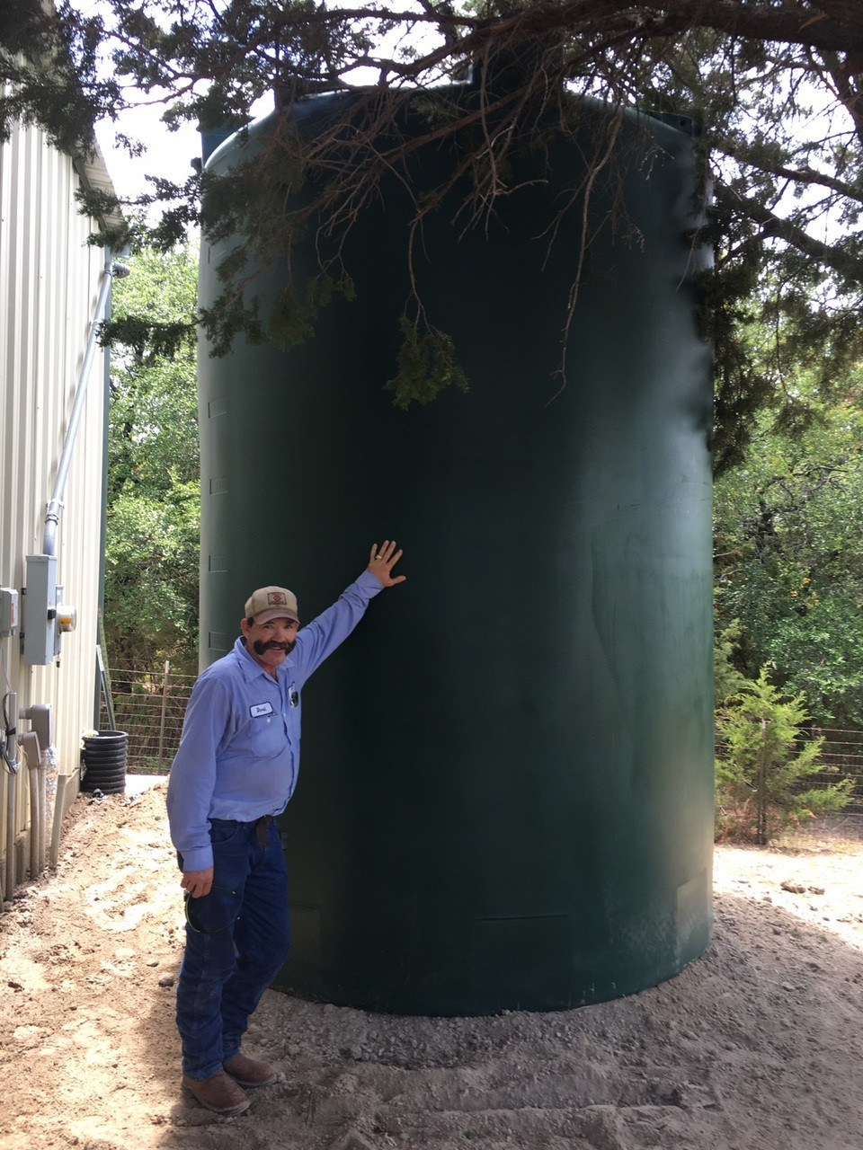 5000 Gallon Water Storage Tank (Tall)