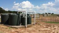 "500 Gallon Poly-Mart Rain Harvesting First Flush Tanks (4"" Inlet)"
