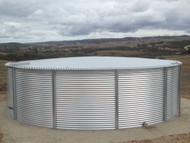 28,000 Gallon Aquamate Water Storage Tank