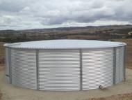 28,000 Gallon Aquamate Water Storage Tank