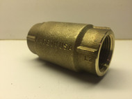 "Bronze Cast - Simmons Check Valve with 1"" Female x 1"" Female - Simmons 503-SB"