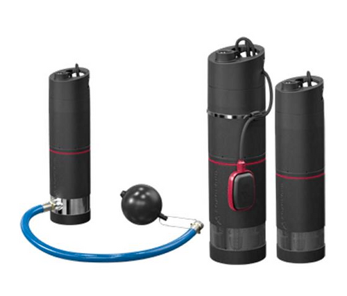 Grundfos SBA 1HP Submersible Pump with Float Switch (115V)