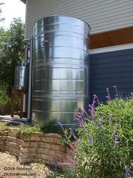 Medium - Round Galvanized Steel Water Storage Tank
