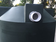 "4"" Overflow for Rainwater Harvesting Tank"