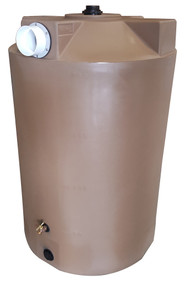 "200 Gallon Poly-Mart Rain Harvesting First Flush Tanks (4"" Inlet)"