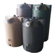 "100 Gallon Poly-Mart Rain Harvesting First Flush Tanks (4"" Inlet)"