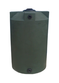 200 Gallon Water Storage Tank - Dark Green