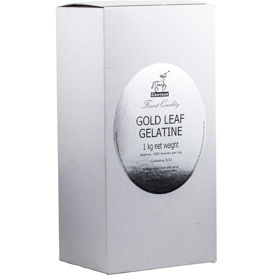 Gelatine Gold Leaf 1kg