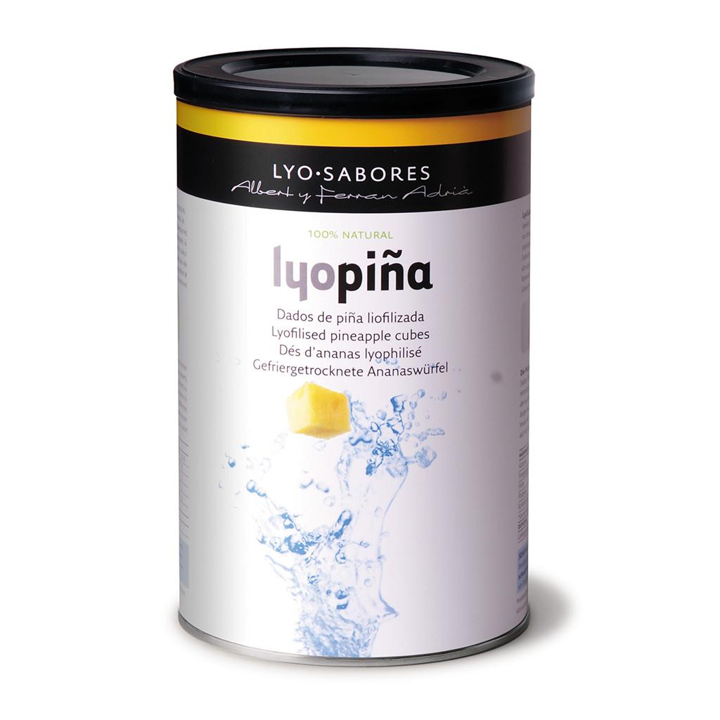 Texturas Lyo (Freeze Dried) Pina-Pineapple Cubes 100g