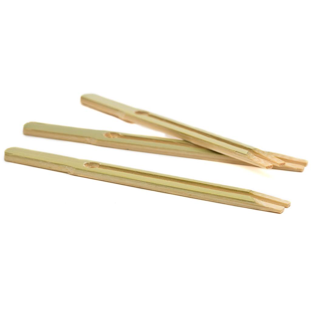 Skewers - Bamboo Lan Ga Kushi Fork 100mm - 140mm
