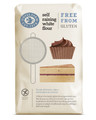 Flour - Doves Gluten Free Self Raising White 1kg