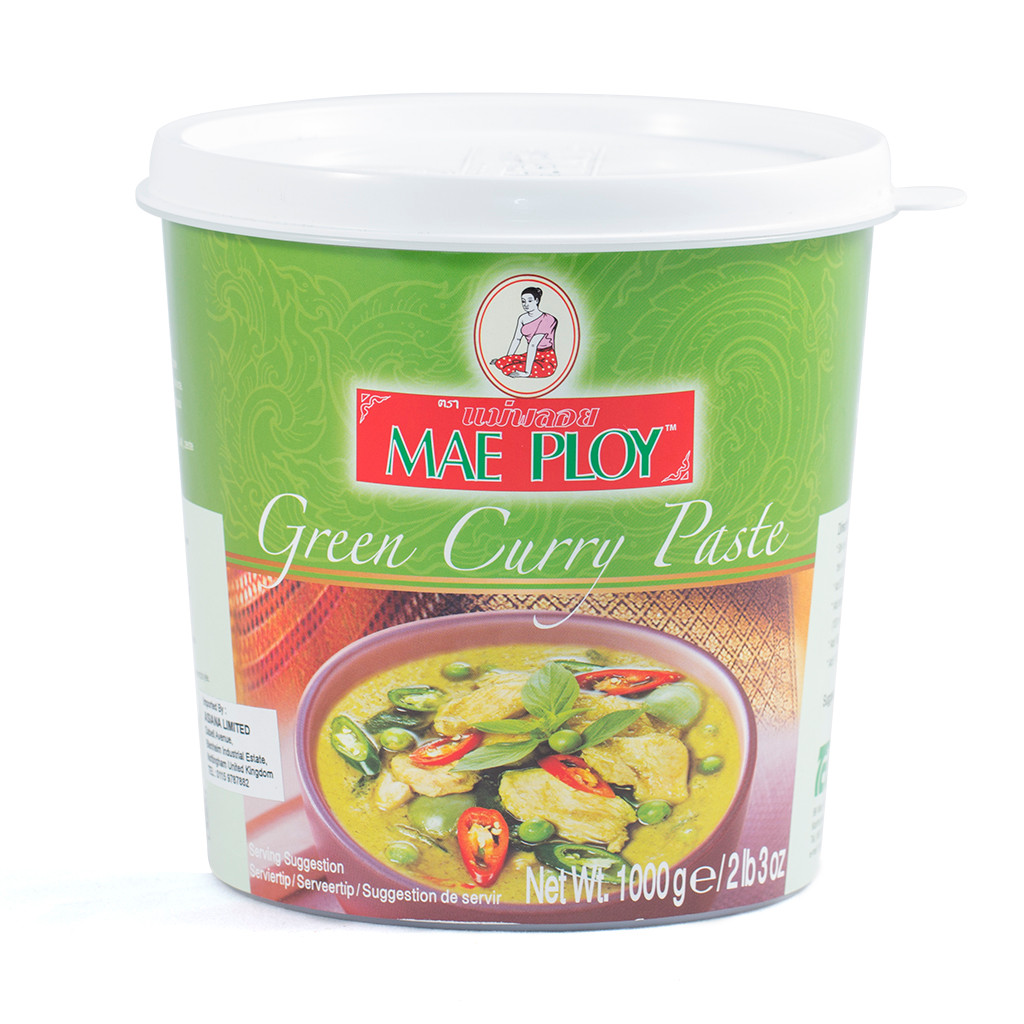 Mai Ploy Curry Paste - Green 1kg