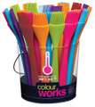 Colour Works Silicone Pastry Brush 20cm
