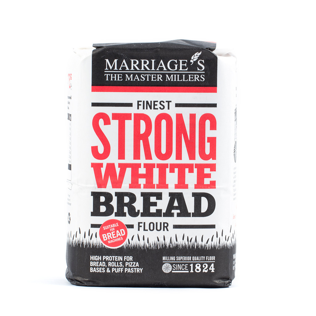 Marriages Strong White Bread 1.5kg